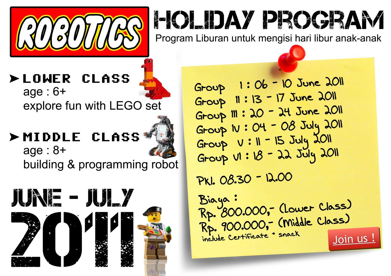 Robotics Education Centre Holiday Program With Robotics Education