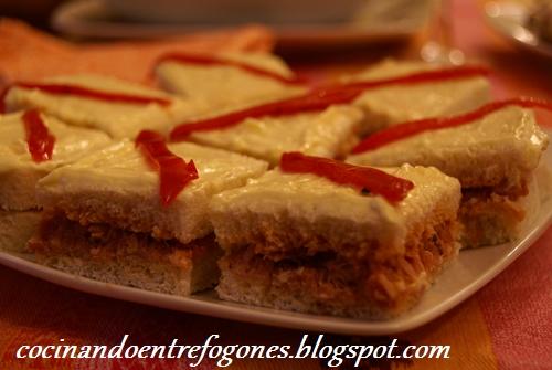Minisanwich De Atun