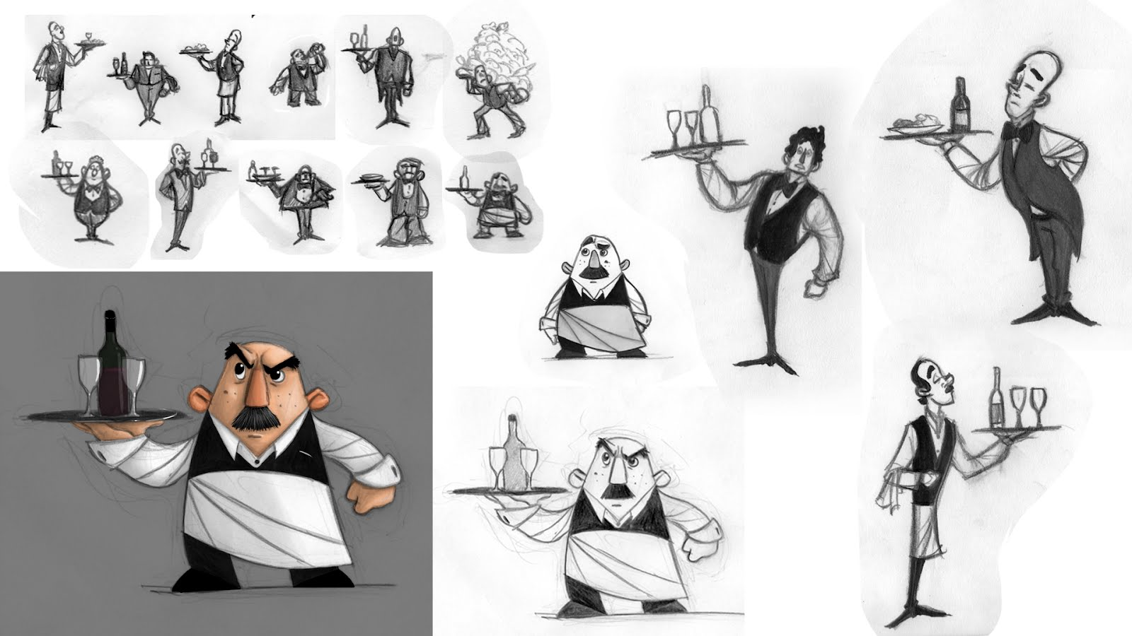 Good Character Design Portfolio : The art of maxi keller portfolio for scad