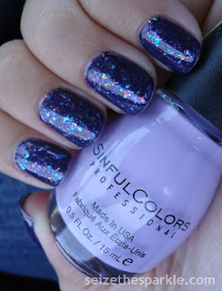 Purple Flaky Layering