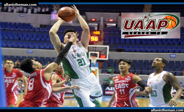 UAAP 78: Jeron Teng scores 20 as La Salle defeat UE 72-64