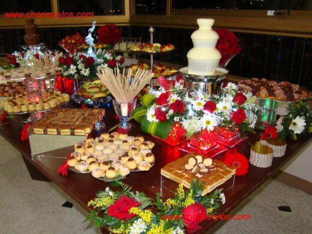 Decoraciones fuentes de chocolate - Decoracion con chocolate ...