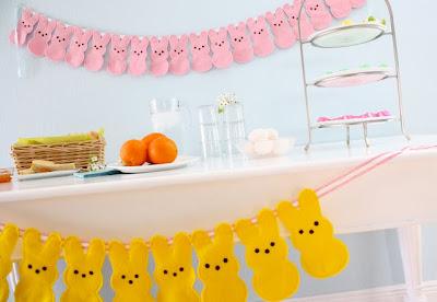 Tutorial DIY guirnalda conejos de Pascua. Easter Bunny garland