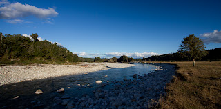 River in the Reefton area