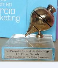 Primer Premio Espiral Edublogs 2012