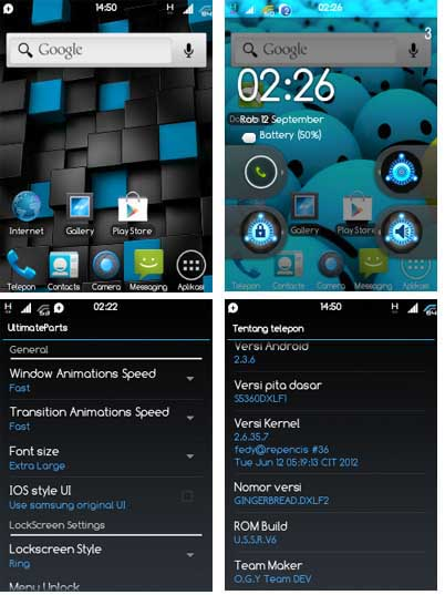 ultimate supersonic rom v6 (ussrv6) for samsung galaxy y