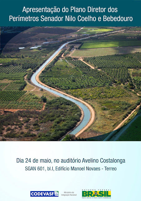 Apresentação do Plano Diretor dos Perímetros de Irrigação Senador Nilo Coelho e Bebedouro