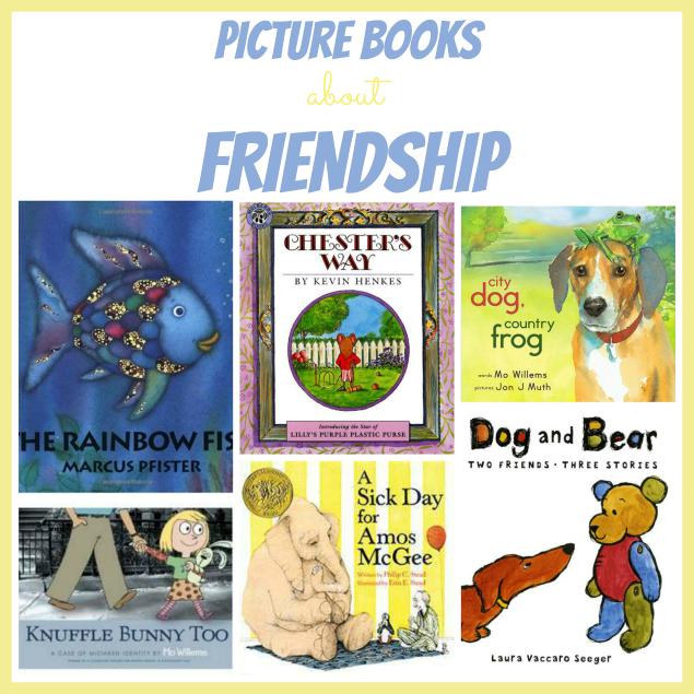 ready set read preschool theme friendship book list