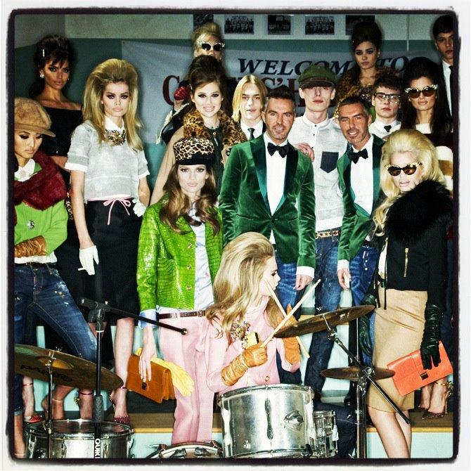 Amore Beauty Fashion: AMORE (Beauty + Fashion): DSQUARED2 Fall/Winter 2012
