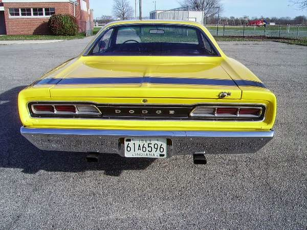 Dodge Super Bee Rear View