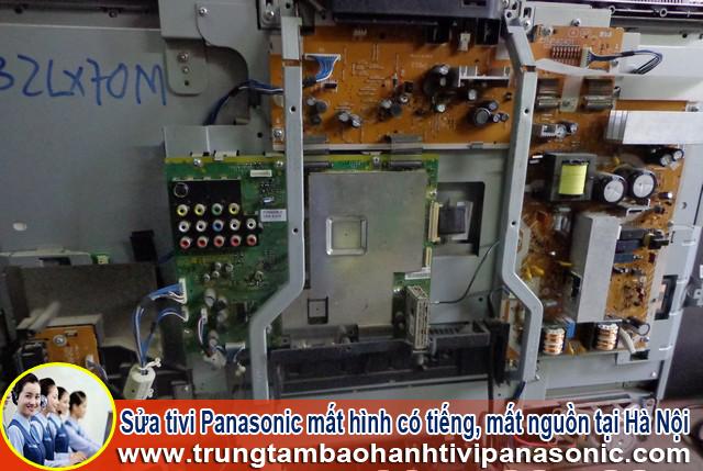 Sửa tivi Panasonic mất hình có tiếng, mất nguồn