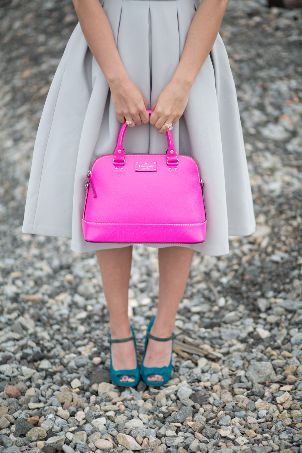 Neon Pink Kate Spade New York Hand Bag