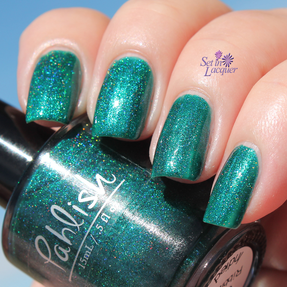 "A Box, Indied for April 2015 - Pahlish ""Quite Ribbiting"""