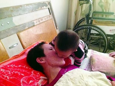 kid cures coma with french kiss
