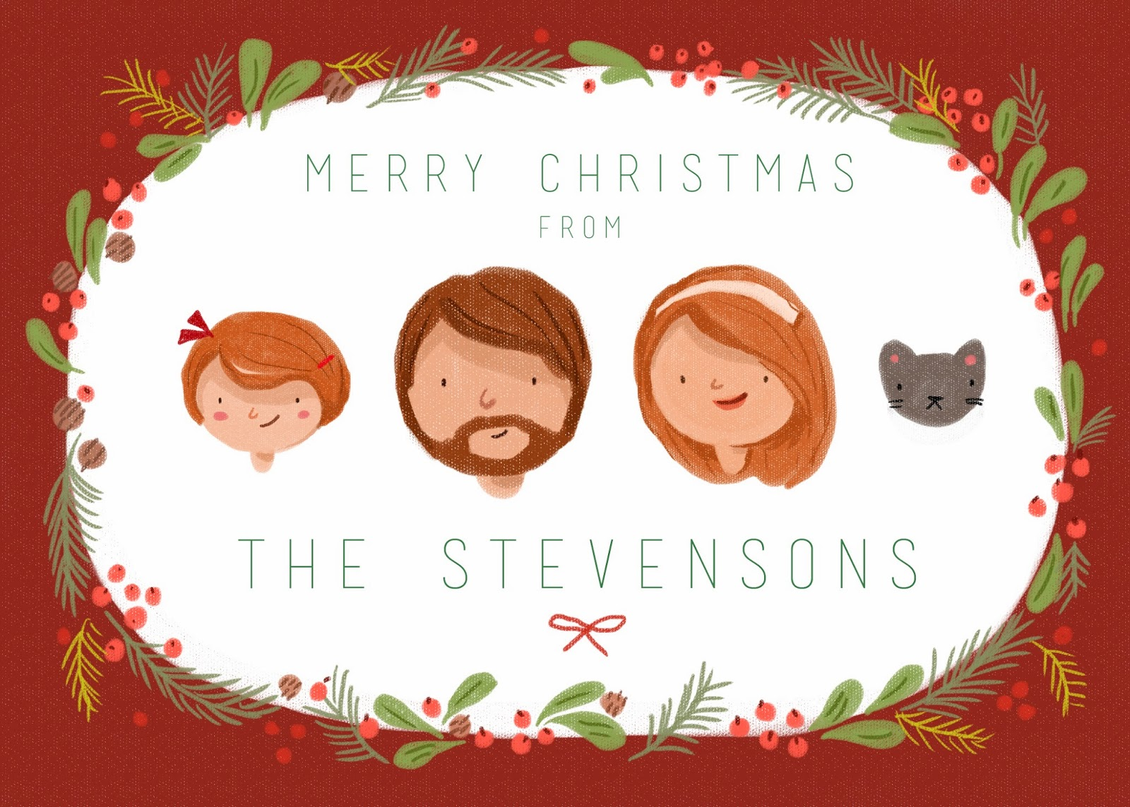 kathryn selbert illustration  christmas card designs