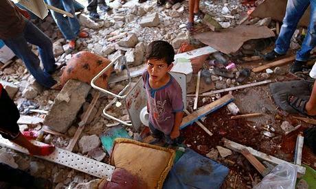 israel membunuh 15 anak anak digedung sekolah