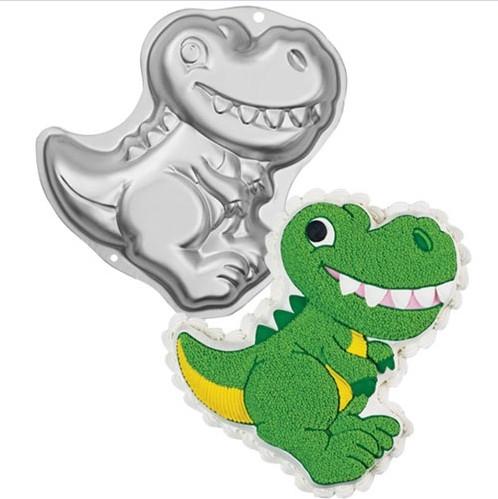 forma de bolo 3d dinossauro