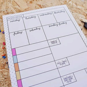 Ma Bicyclette - Buy Handmade - Calendars & Diaries - Terrific Desk Pad