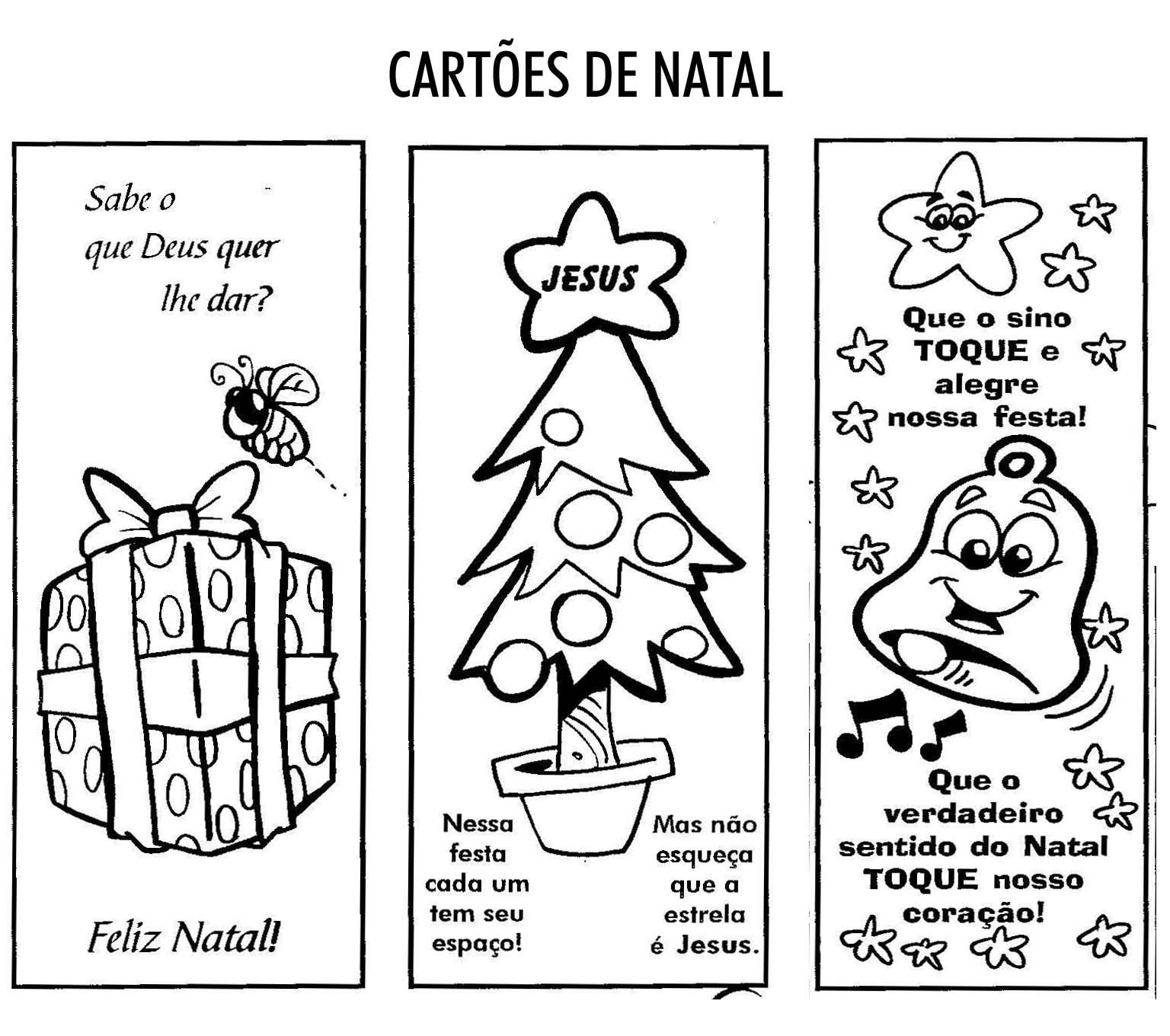 Amado Só atividades prontas para imprimir: Mensagens de Natal Para Alunos HQ73