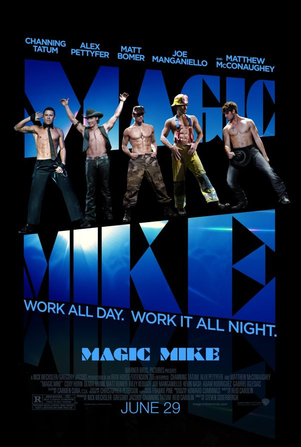 Magic Mike Poster via DL-Central.Net!