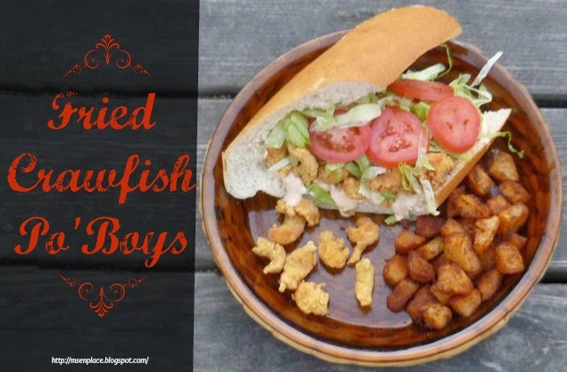 Fried Crawfish Po'Boy w/ Cajun Power Mayo | Ms. enPlace