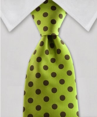 https://gentlemanjoe.com/index.php/green-polka-dot-necktie.html