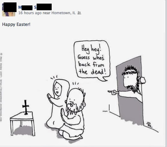 Happy Easter Post for Facebook