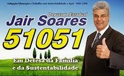 Estamos com Jair Soares. O amigo da Cantu!