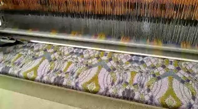 mesin tenun kain jacquard