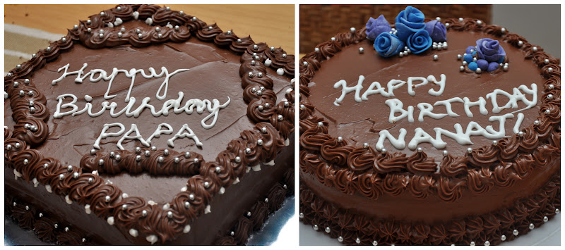 B Day Cake Images For Papa : Jyotsna s World: The Best Chocolate Cake for the Best Dads!