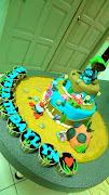 Lyn's Bikini Bottom Cake