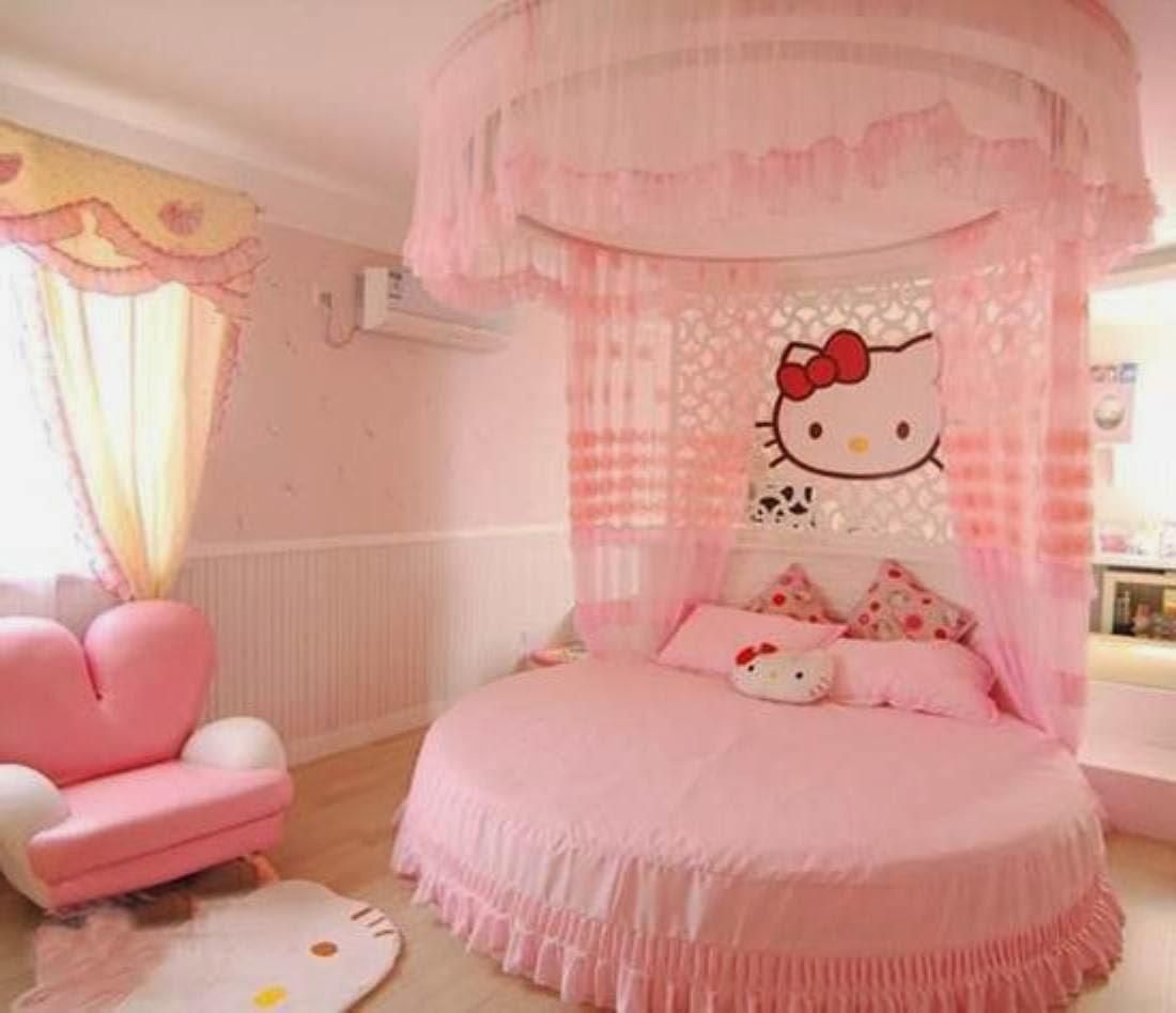 Bricolage e Decoração Sugestões para Quartos de Menina  ~ Tapetes Quarto Hello Kitty