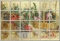 Calendario d'avvento con 1 tutorial al giorno