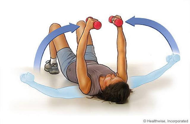Как накачать девушке мышцы рук в домашних условиях за