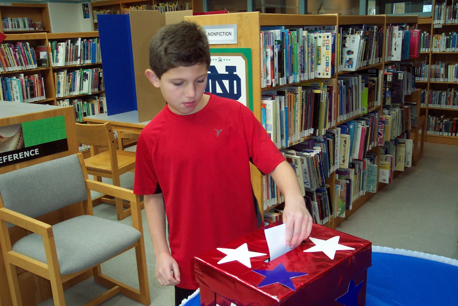 ... to Upper Elementaryvolunteers, who assisted Lower Elementary voters