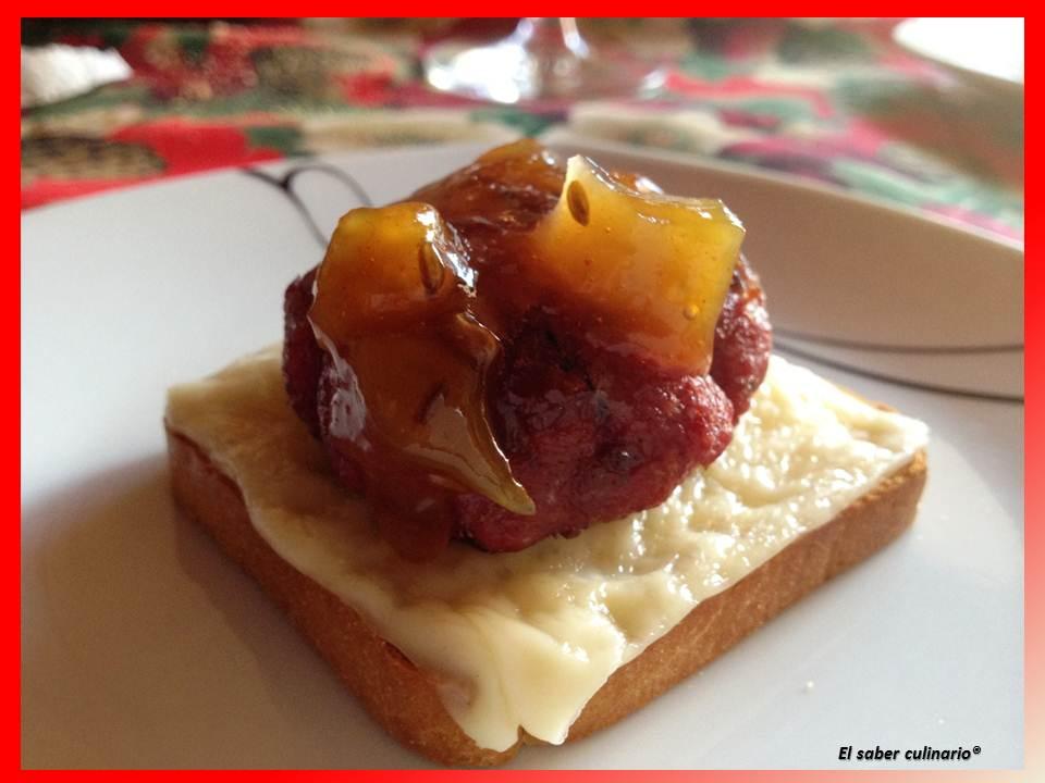12 ideas de canap s y aperitivos navide os muy f ciles de for Canape de cangrejo