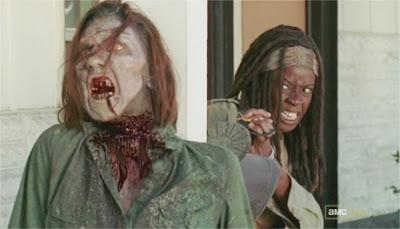 Michonne 3x15 The Walking Dead