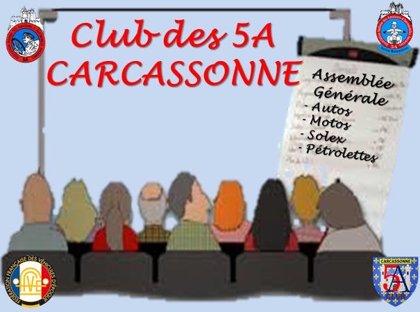 ASSEMBLÉE GÉNÉRALE DES 5A
