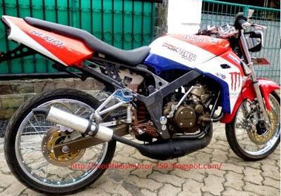 Modifikasi Motor Kawasaki Ninja R 2014