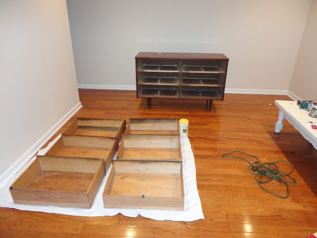 DIY Media Console: How To Paint Furniture