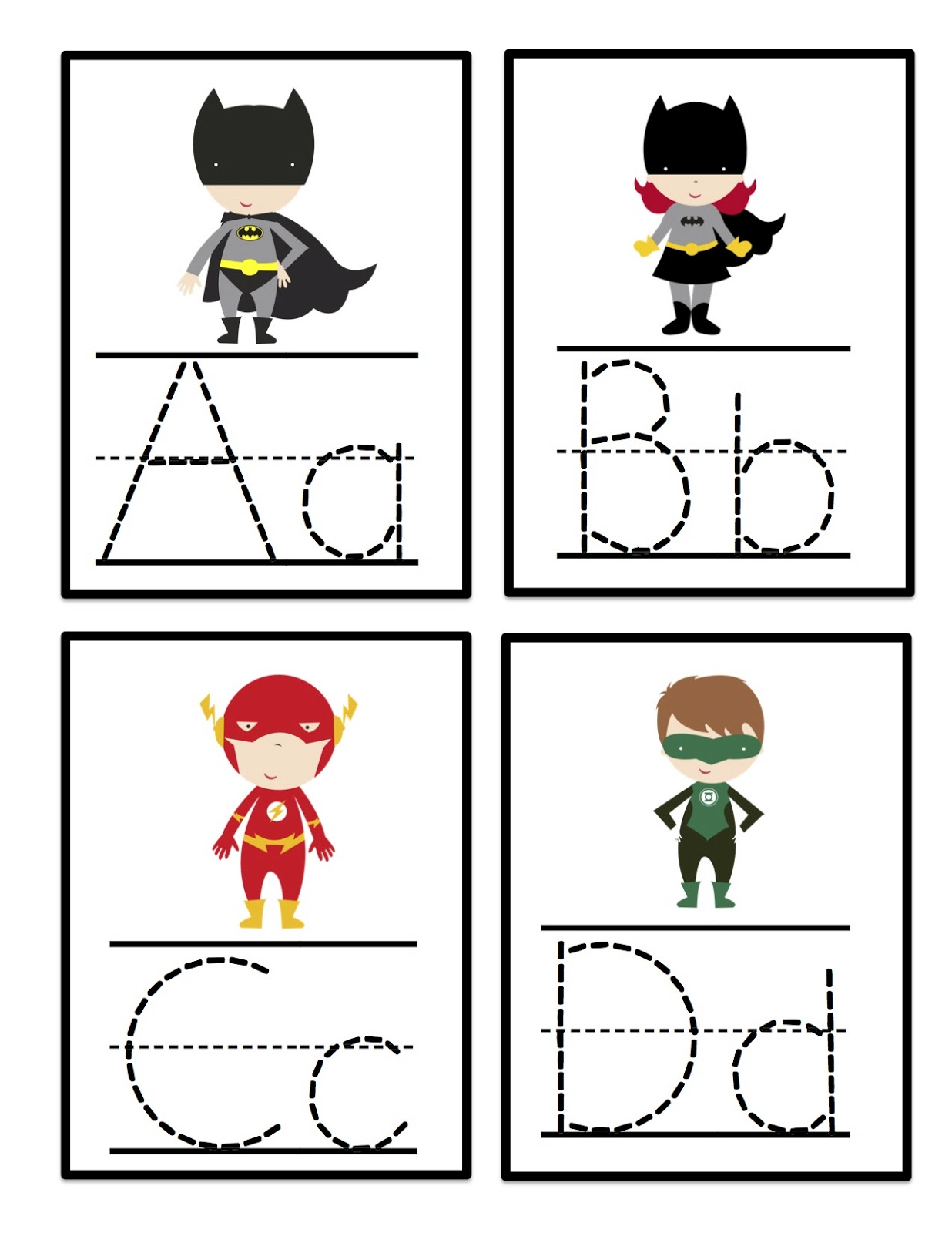 This is a photo of Eloquent Alphabet Cards Printable