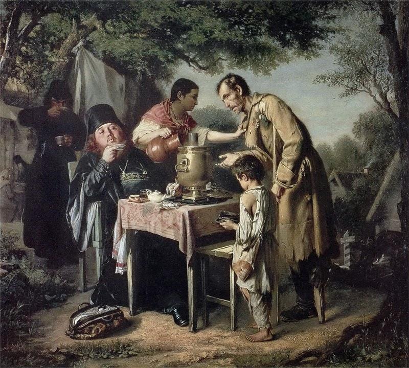 Перов, Чаепитие в Мытищах