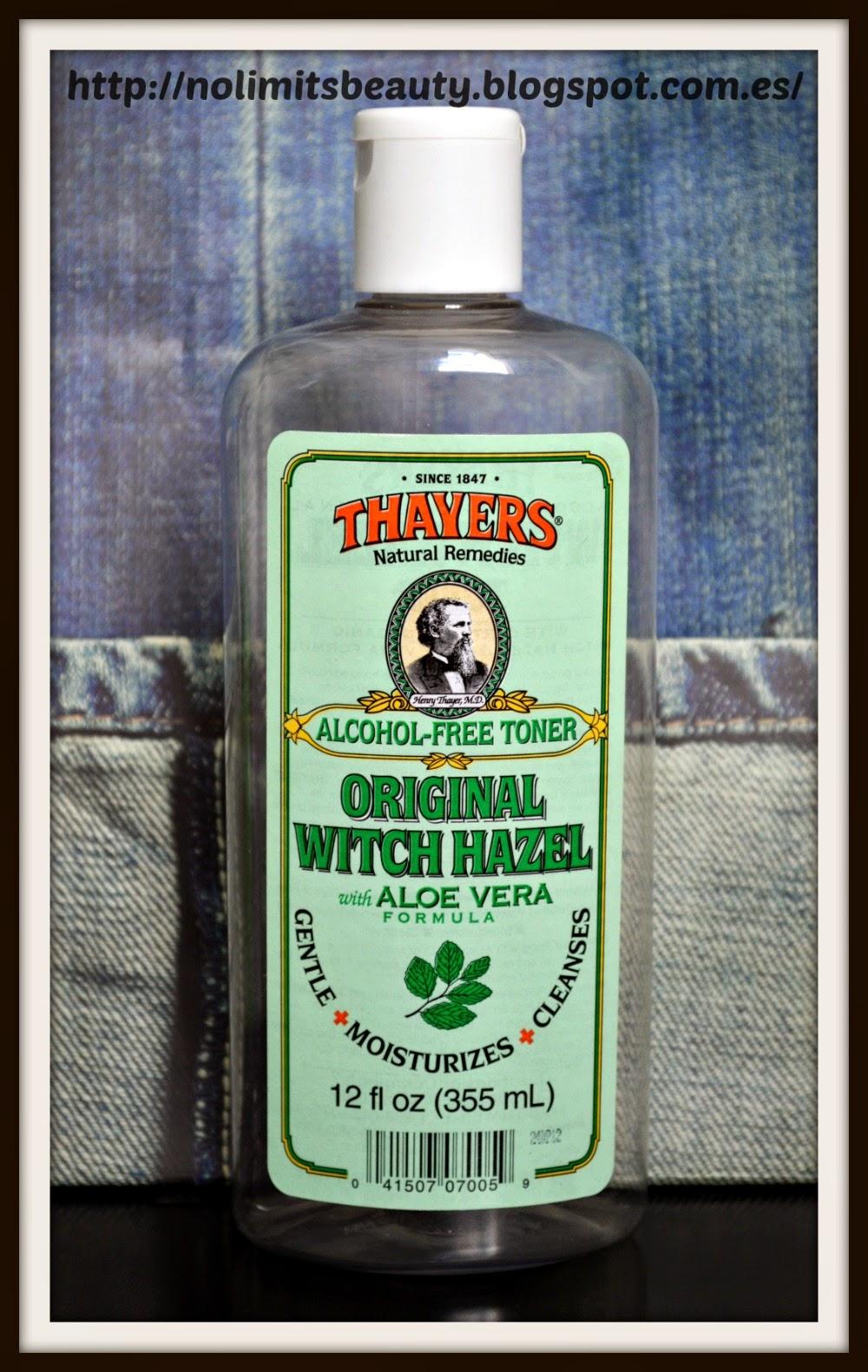Thayers - Original Witch Hazel con Aloe Vera