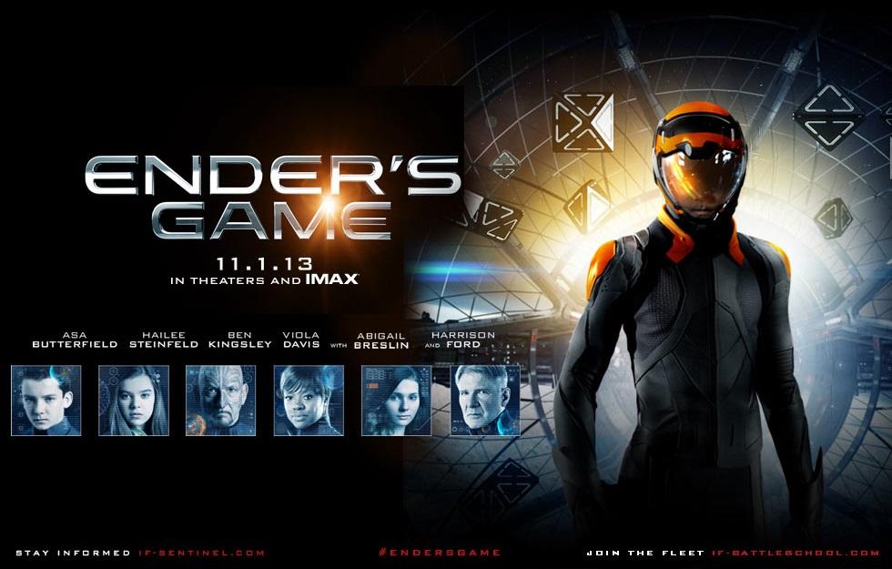 Capa do Ender's Game O Jogo do Exterminador Legendado Torrent AVI + Assistir Onlinefilmes