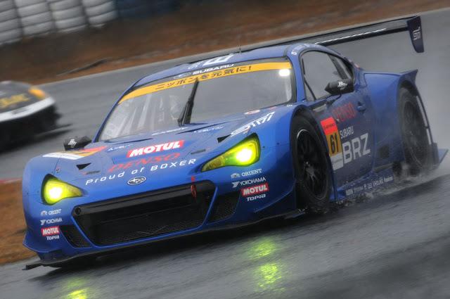 Subaru BRZ GT300, wyścigowy samochód, Super GT