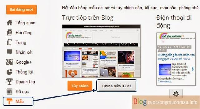 Cách thêm bình luận facebook vào blogspot