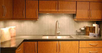 Matching the Kitchen Backsplash Tile