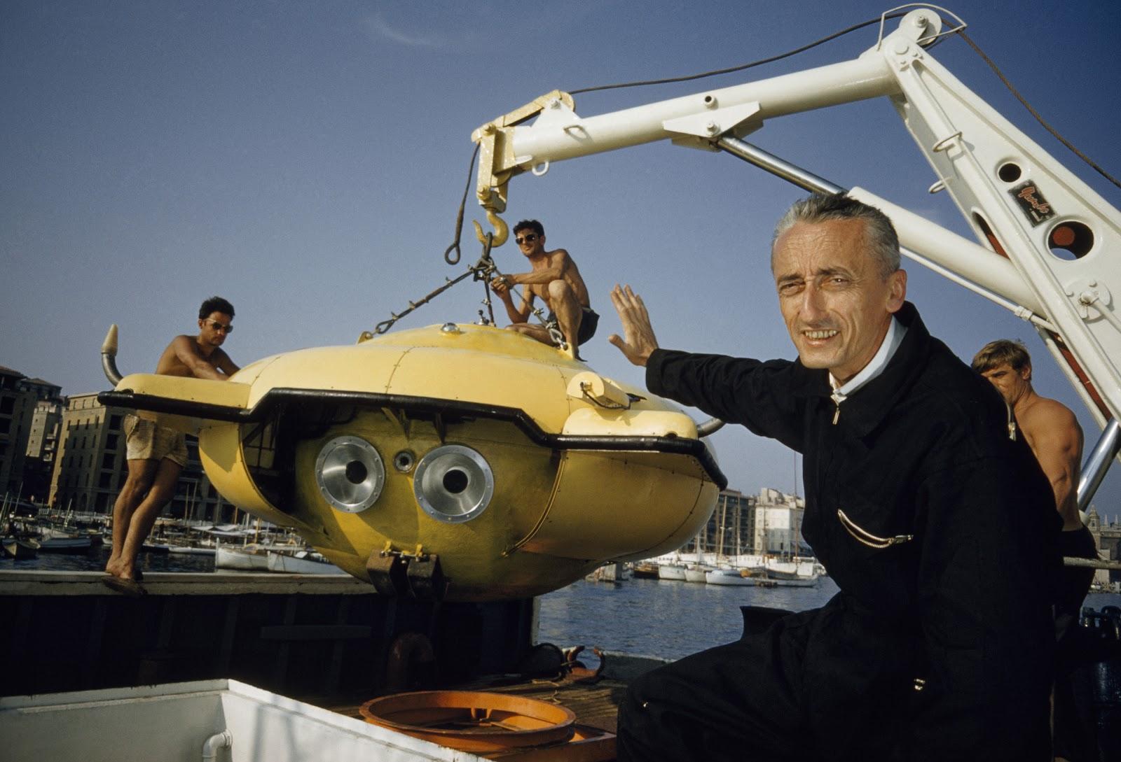 Резултат с изображение за Jacques-Yves Cousteau Silent World