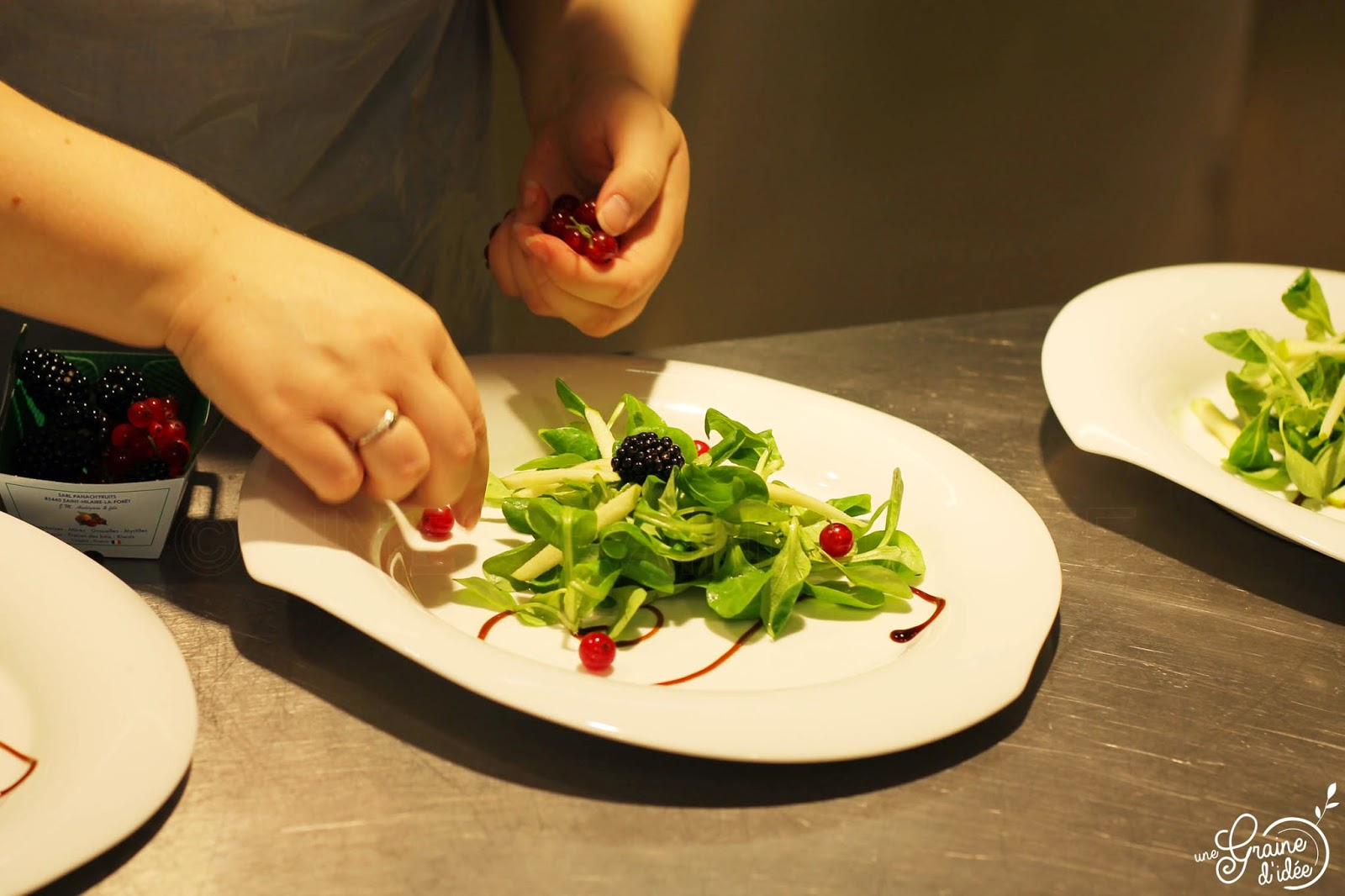 Salade Fraîcheur et son Curé Nantais Pané Noisette - Une Graine d'Idée