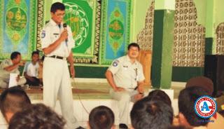 Jasa Raharja NTB Road Show ke Ponpes Syaikh Zainudin NW Anjani